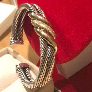 Authentic David Yurman Double Classic Bracelet